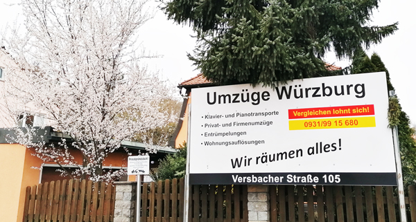 Umzugsunternehmen Würzburg